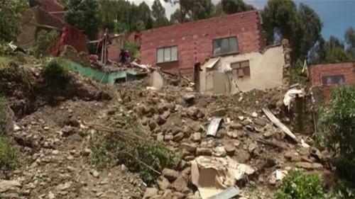 Heavy rain and mudslides kill eight in Bolivia