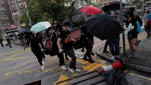 Hotels to cognac: Global brands get hit by Hong Kong protests