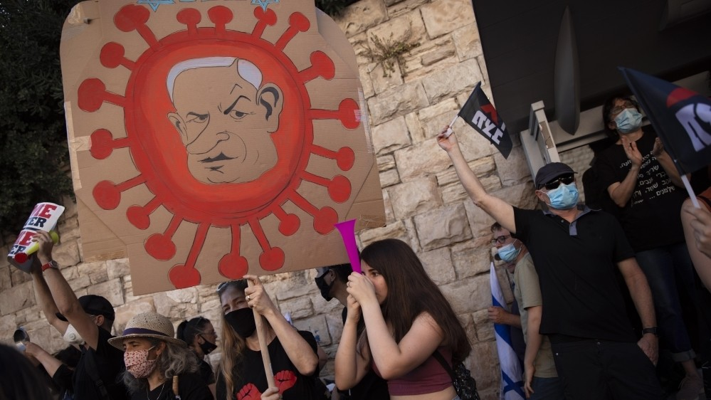 The coronavirus betrays Netanyahu