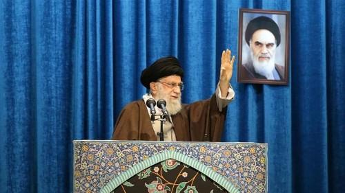 Iran's Khamenei defends Revolutionary Guard in Friday sermon
