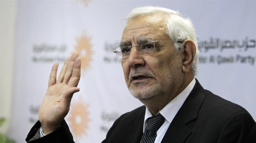Egypt's Aboul Fotouh 'suffers double heart attack' in prison