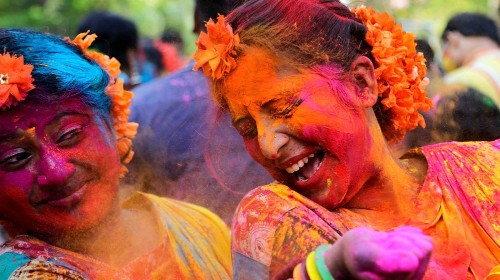 Holi festival of colours celebrated with fervour