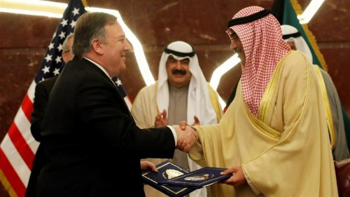 Pompeo calls for Gulf unity at start of Middle East tour