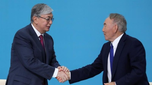 Kazakh ruling party nominates Tokayev for presidency