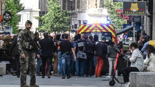 France: More than a dozen injured in Lyon explosion