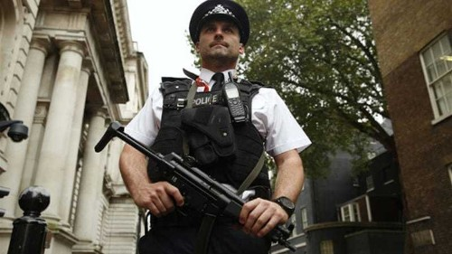 Woman arrested in UK on terrorism charges