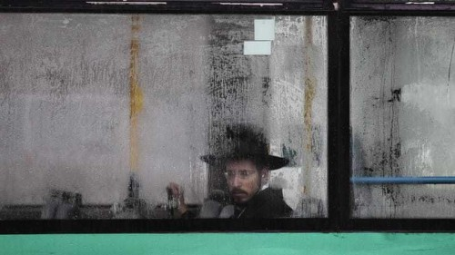 Palestinians in Israel decry removal of Arabic on buses