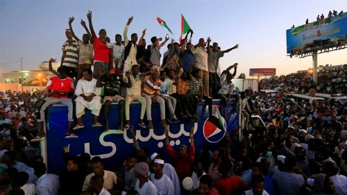 Sudan protesters to Saudi Arabia, UAE: 'Please keep your money'