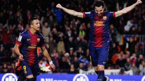 Five apiece for Real and Barca