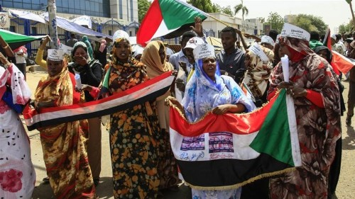 Sudan's military meets protesters to discuss transfer of power