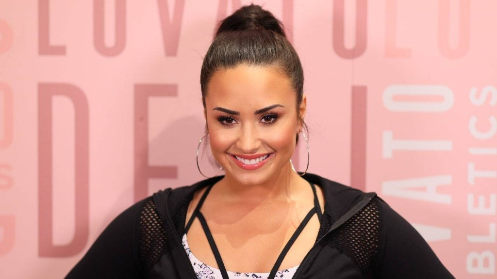 Demi Lovato Looks Incredible With Long, Blonde Hair in Her New Netflix Movie