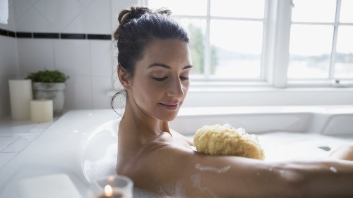This Huge Loofah From Burke Williams Spa Is Going Viral
