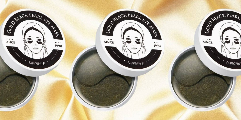The Shangpree Gold Black Pearl Eye Mask Is Like a Shot of Espresso for Your Undereyes