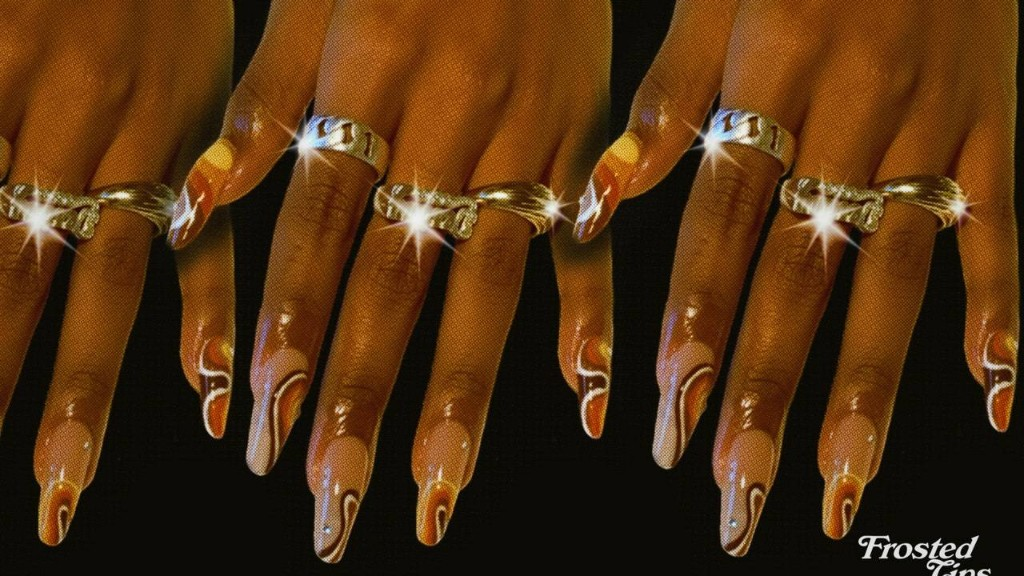 How Nail Artist Rayah Naji Turns Modern Manicures Into '70s-Style Ads
