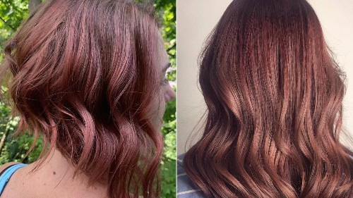 Strawberry Brunette Is the New Way to Add a Hint of Red to Brown Hair