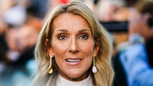 We Can't Stop Staring at Céline Dion's Bangs in This Adorably Awkward Throwback Post