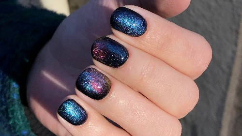 How to Get the Magnetic Galaxy Nails That Are Going Viral