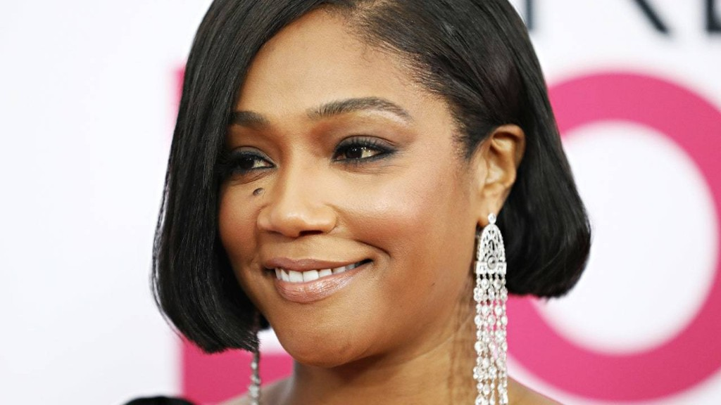 Tiffany Haddish Just Shaved Her Head