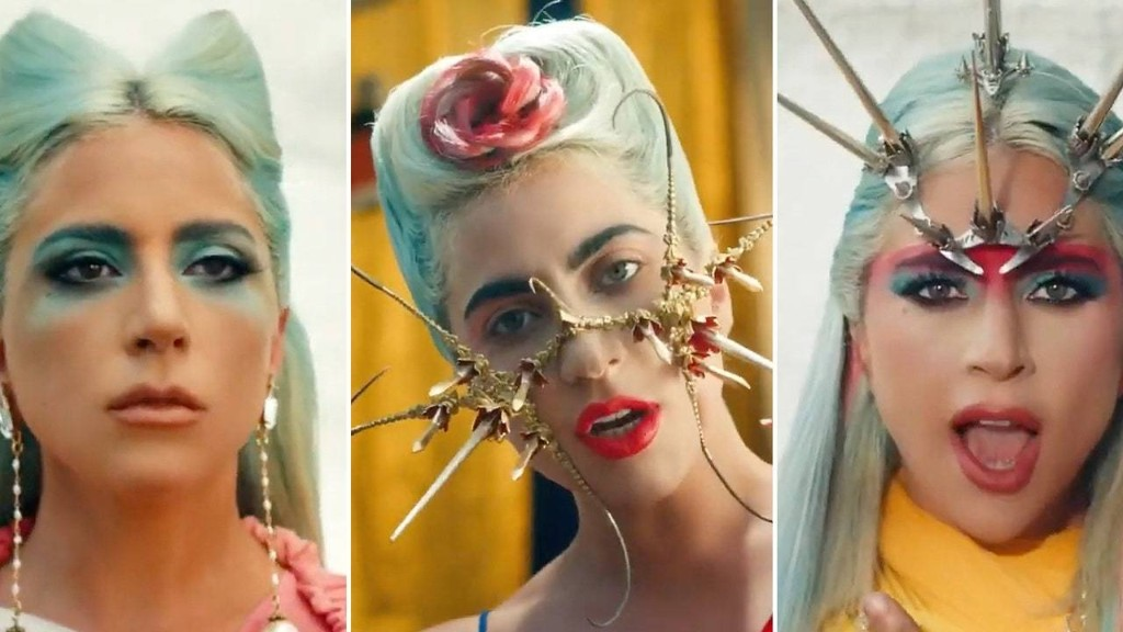 "Lady Gaga's ""911"" Video Features 6 Epic Makeup Moments"