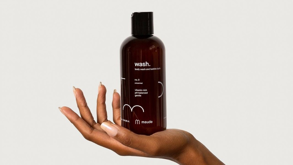 Maude's New pH-Balanced Body Wash and Bubble Bath Is Exactly What Our Stressed Skin Needs