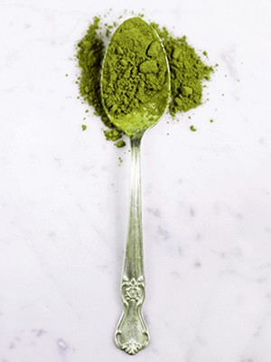 Green tea - Magazine cover