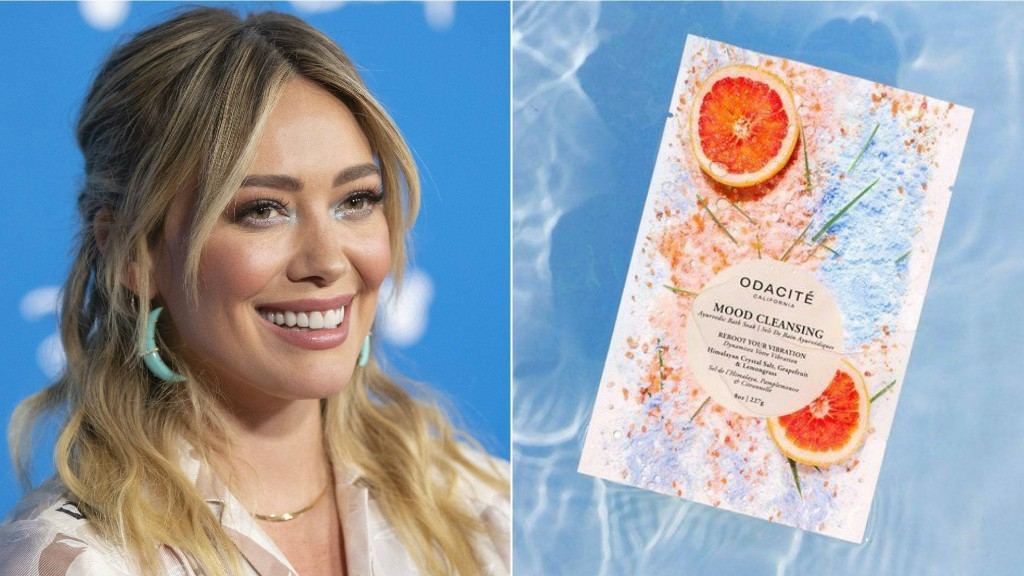 Hilary Duff Shared Her Favorite Bath Soak, and It's Perfect for Stay-Home Self-Care