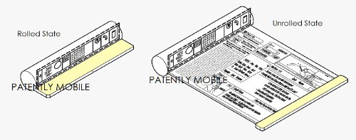 Samsung files patents for a scrollable smartphone, a folding tablet, and more