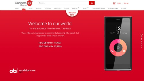 Obi Worldphone SF1 now up for registration in India