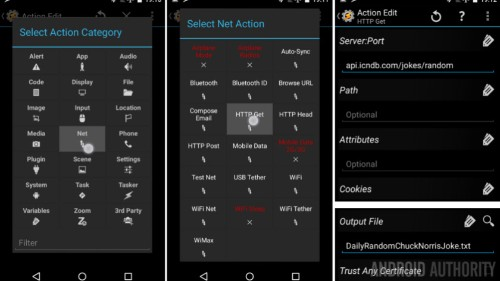 Daily quote or Chuck Norris joke on your Homescreen – Android customization