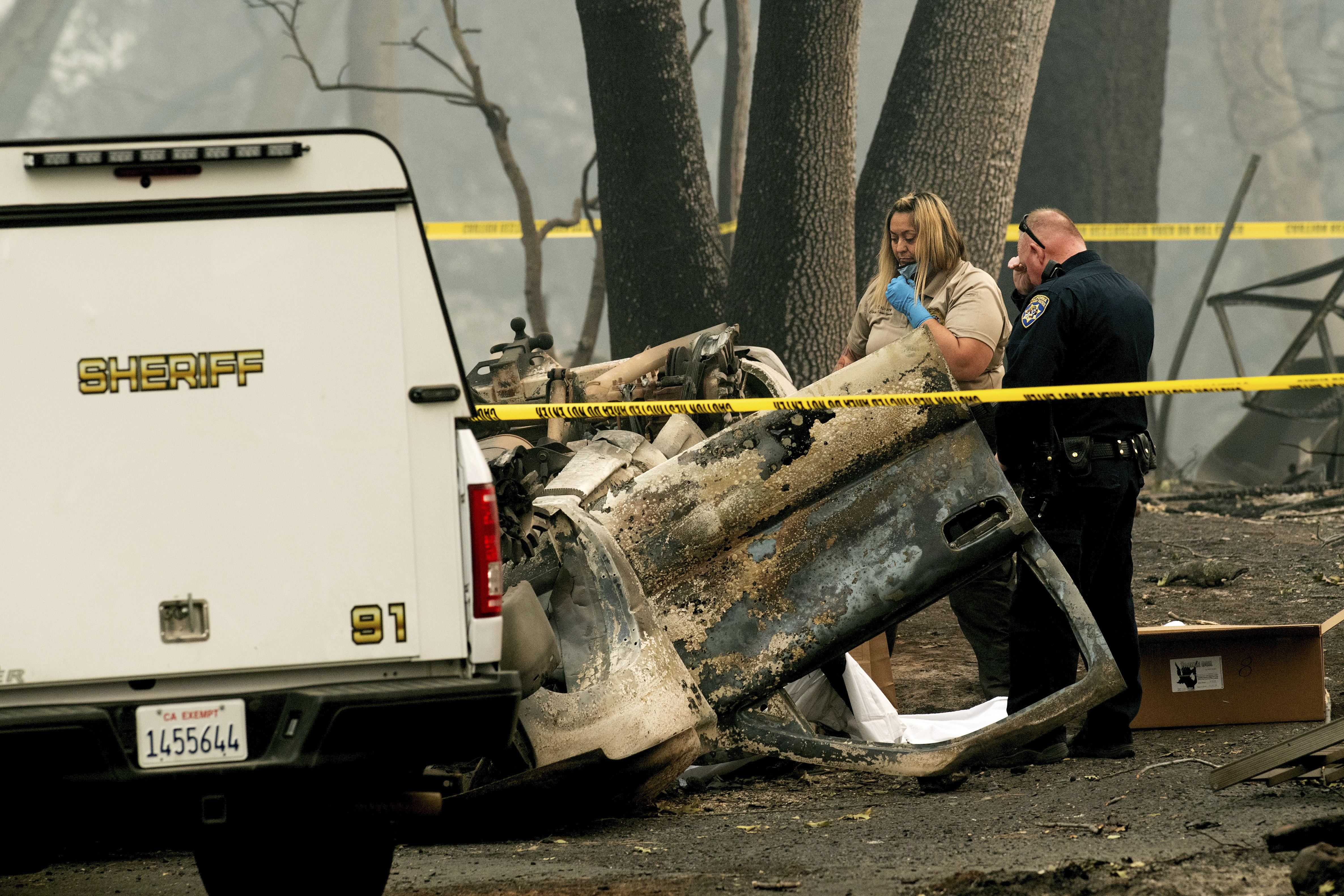 California fire has claimed 63 as missing list grows to 631