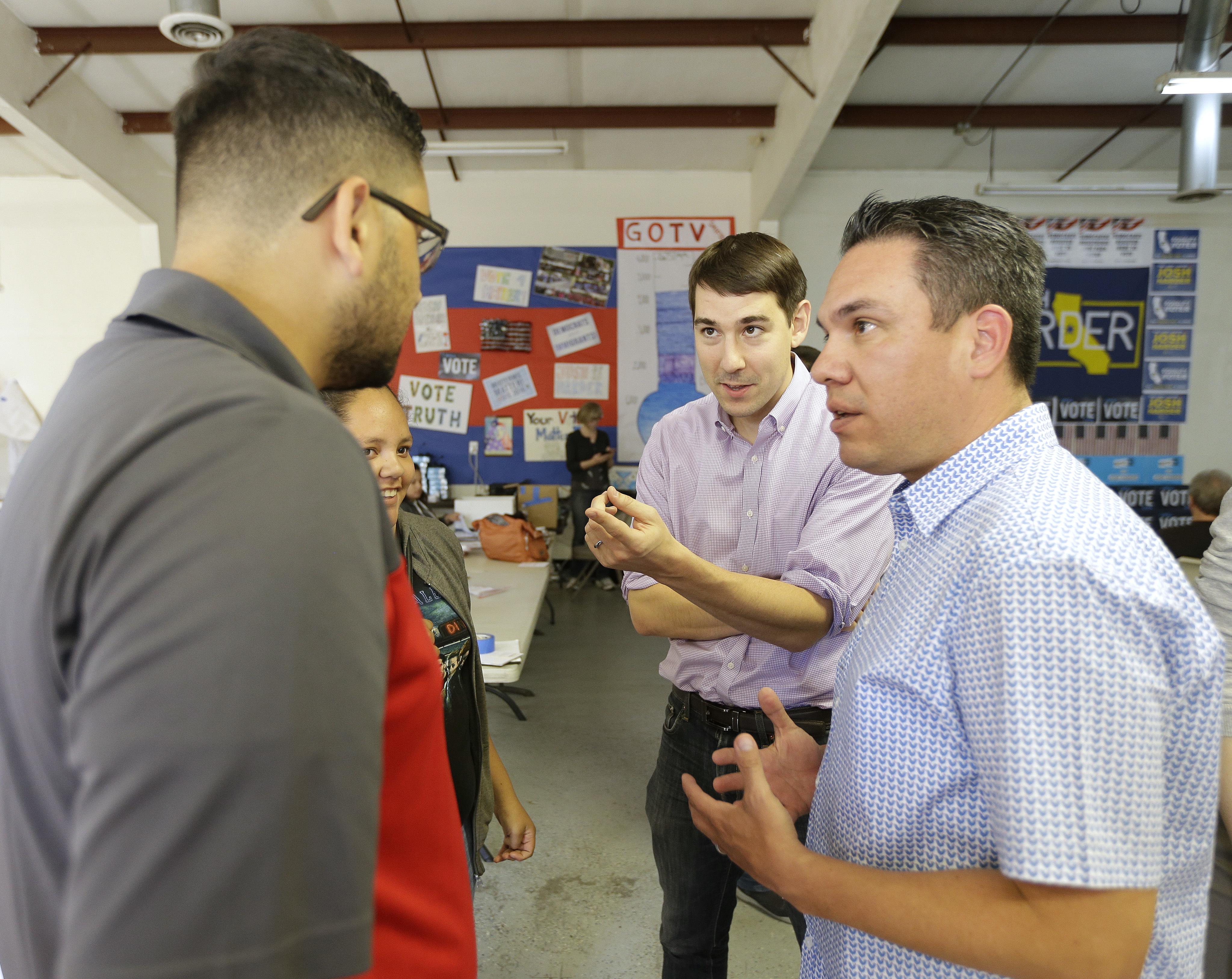 Democrat Harder ousts California GOP US Rep. Denham