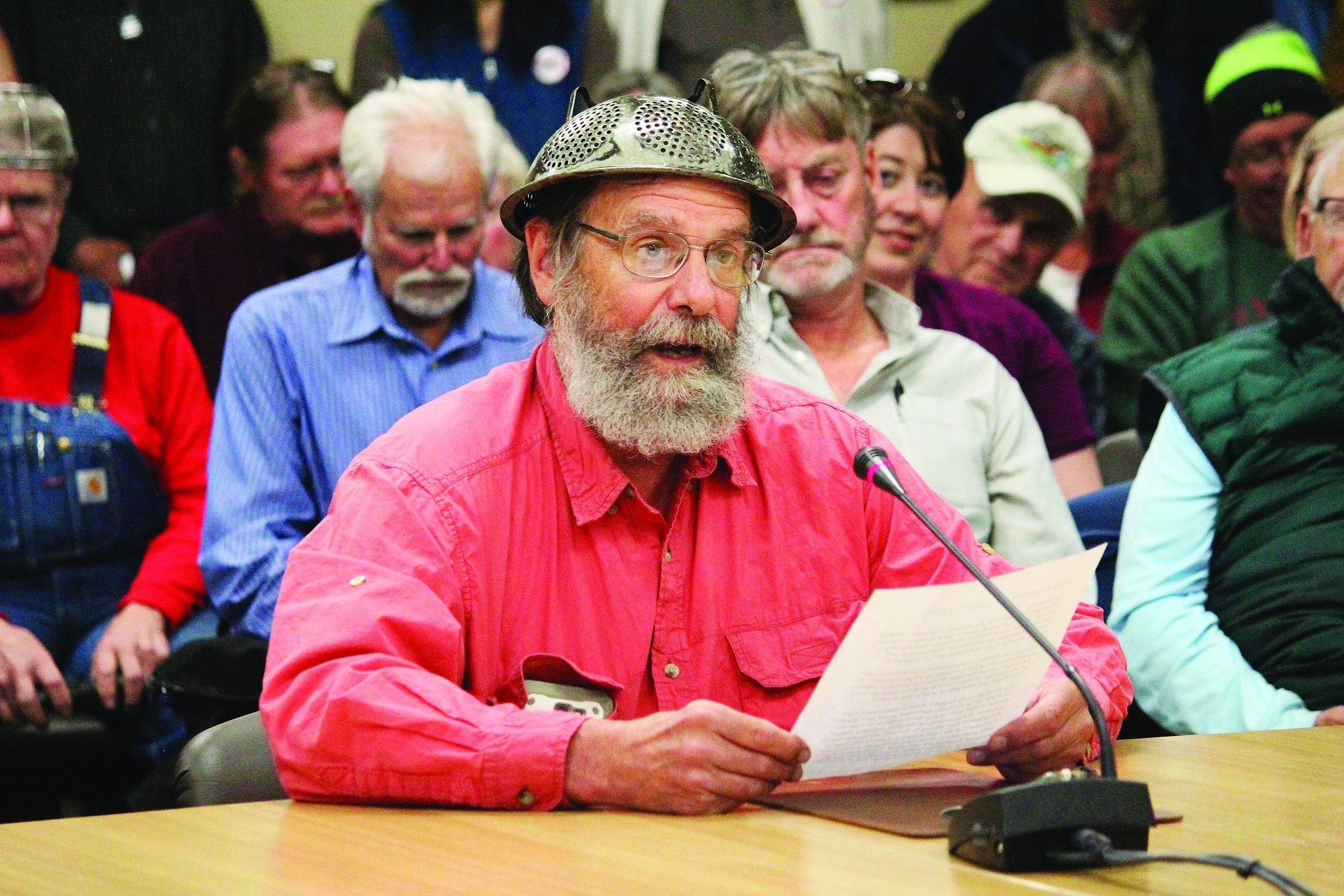 Pastafarian pastor leads prayer at Alaska government meeting