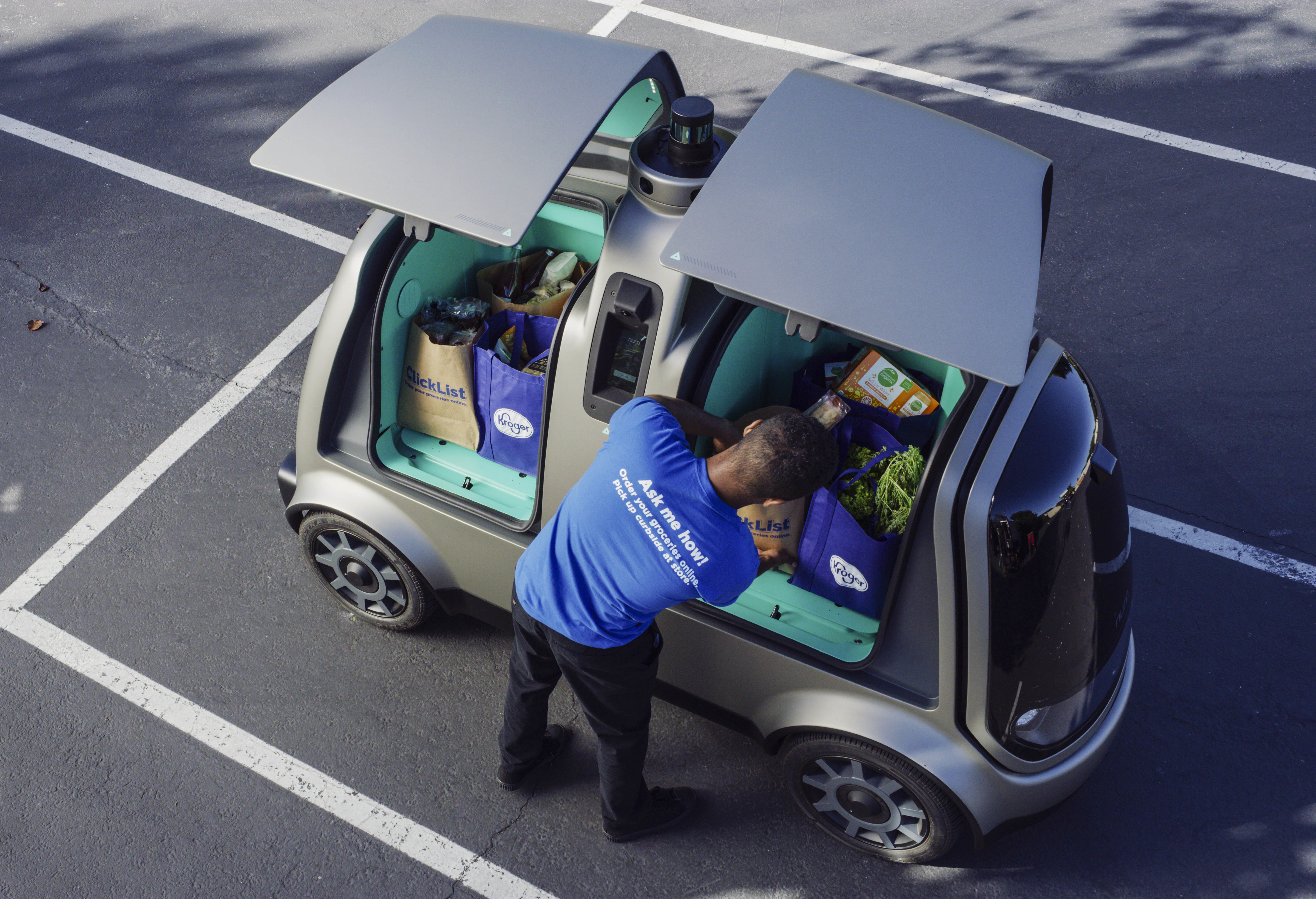 Kroger to test grocery deliveries with driverless cars