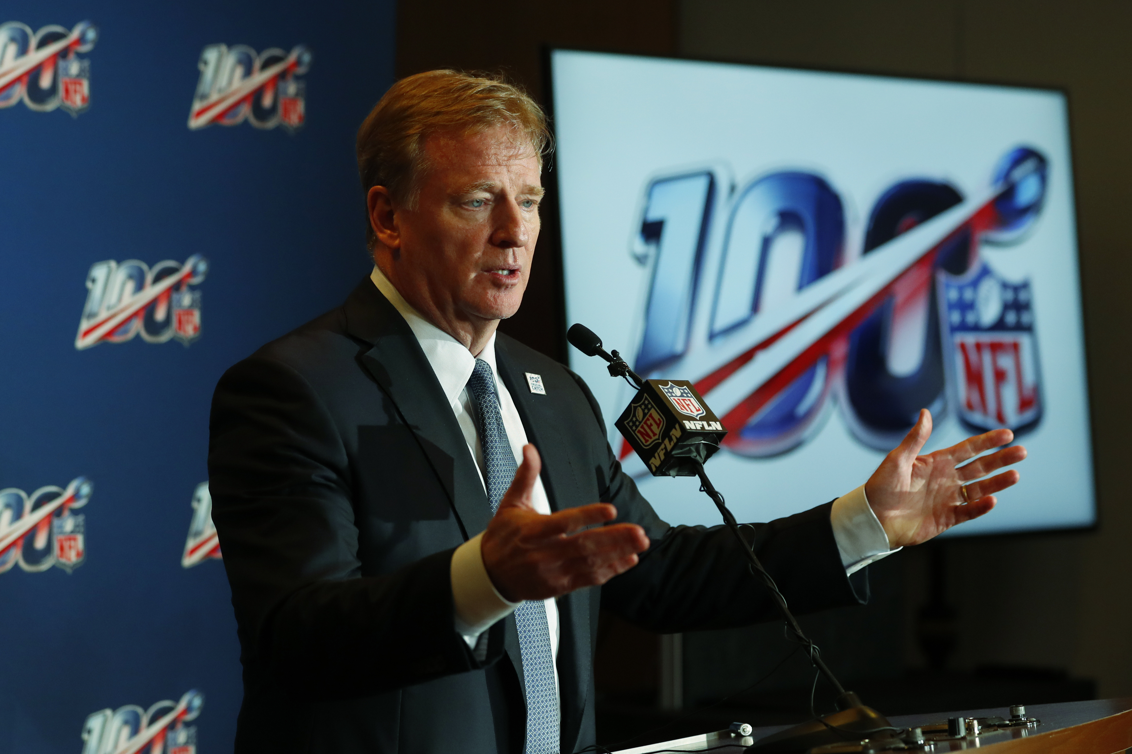 Goodell: pass interference reviews are working as expected