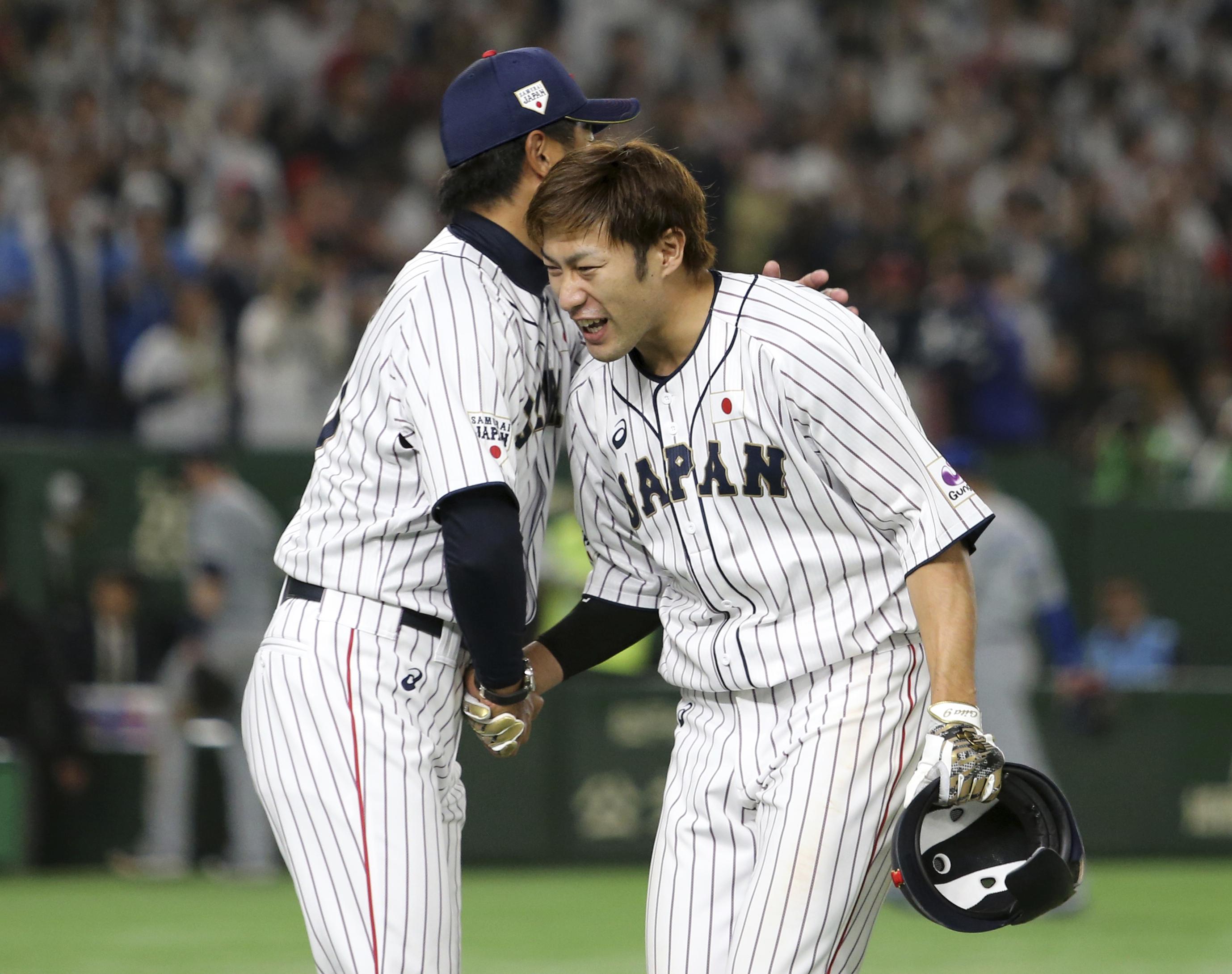 Yanagita's HR off Yates lift Japan over MLB in tour opener