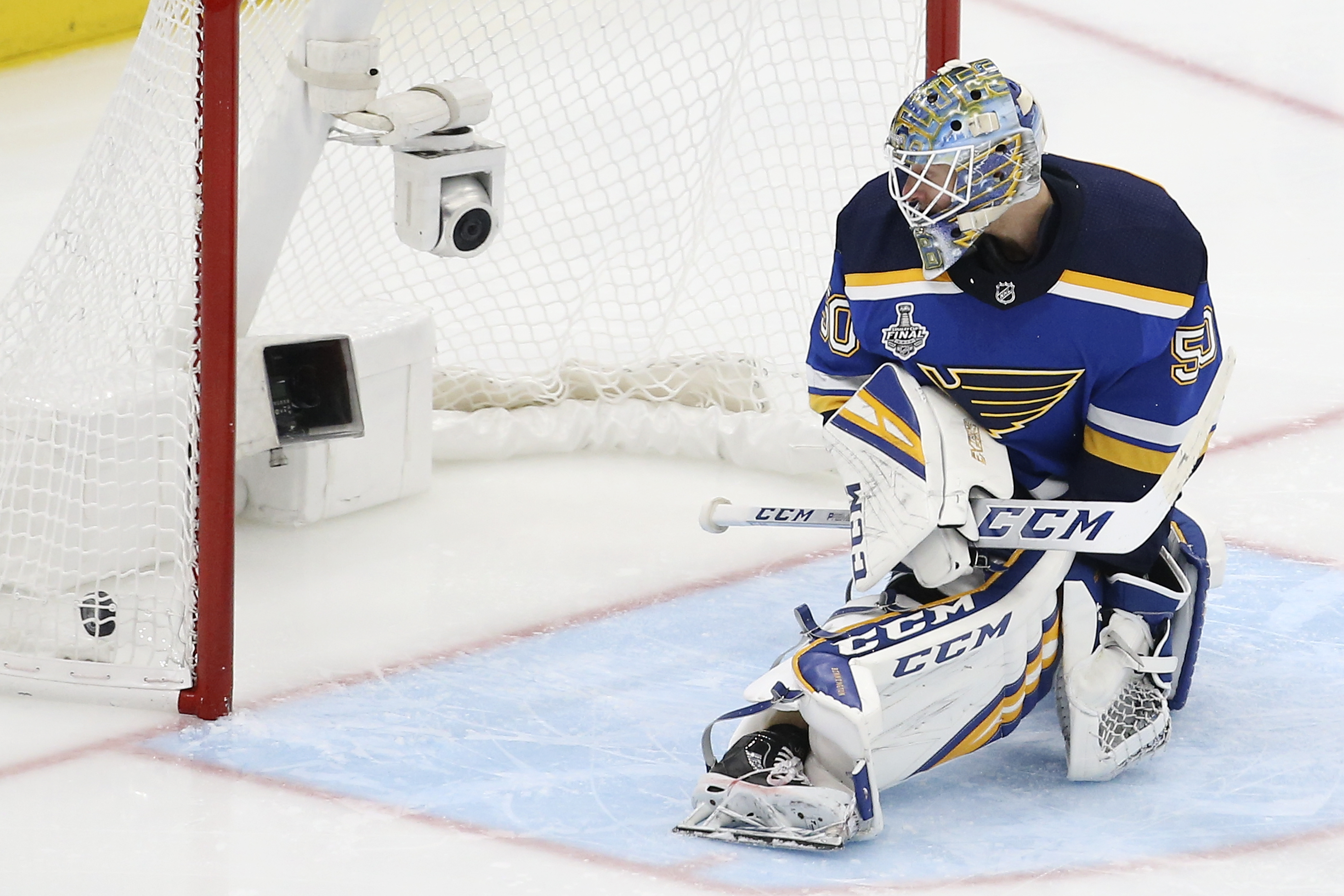 The Latest: Bruins lead Blues 3-1 late in Cup Final Game 6