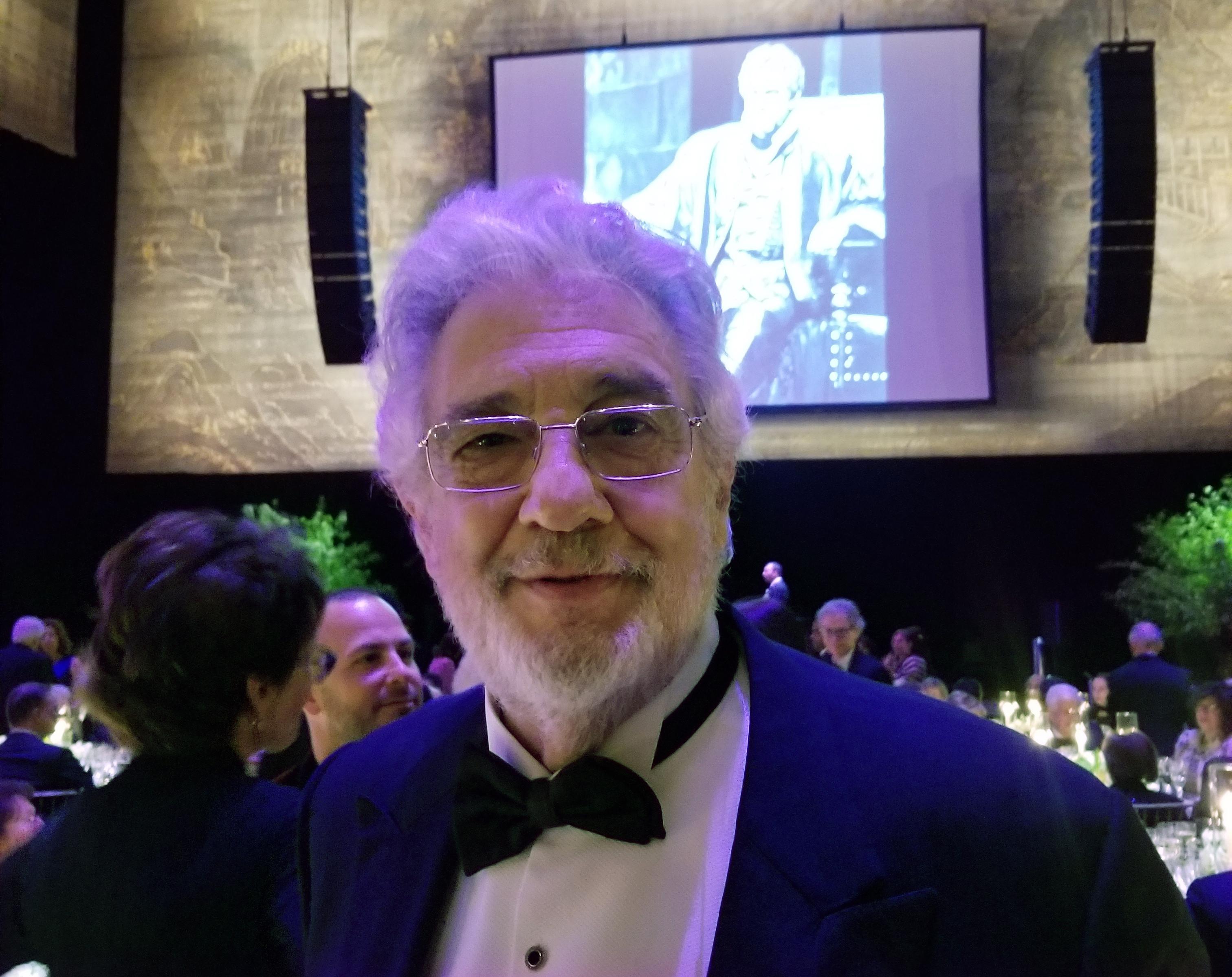 Metropolitan Opera fetes Placido Domingo golden anniversary