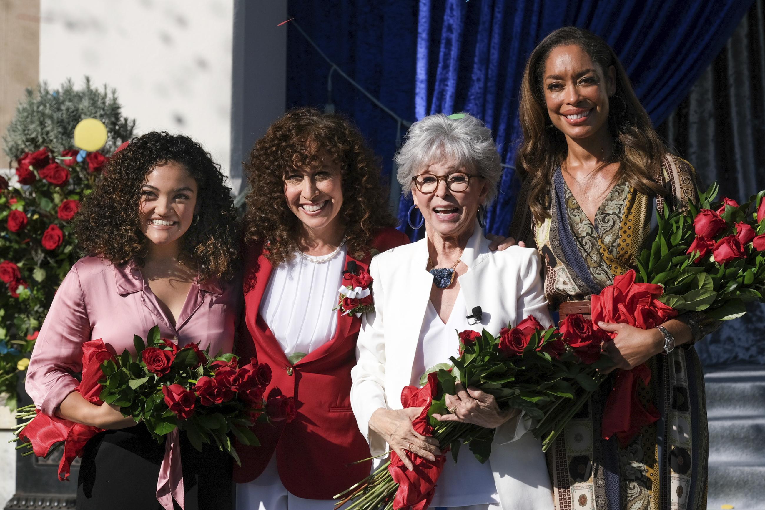 Actresses, gymnast named grand marshals of 2020 Rose Parade