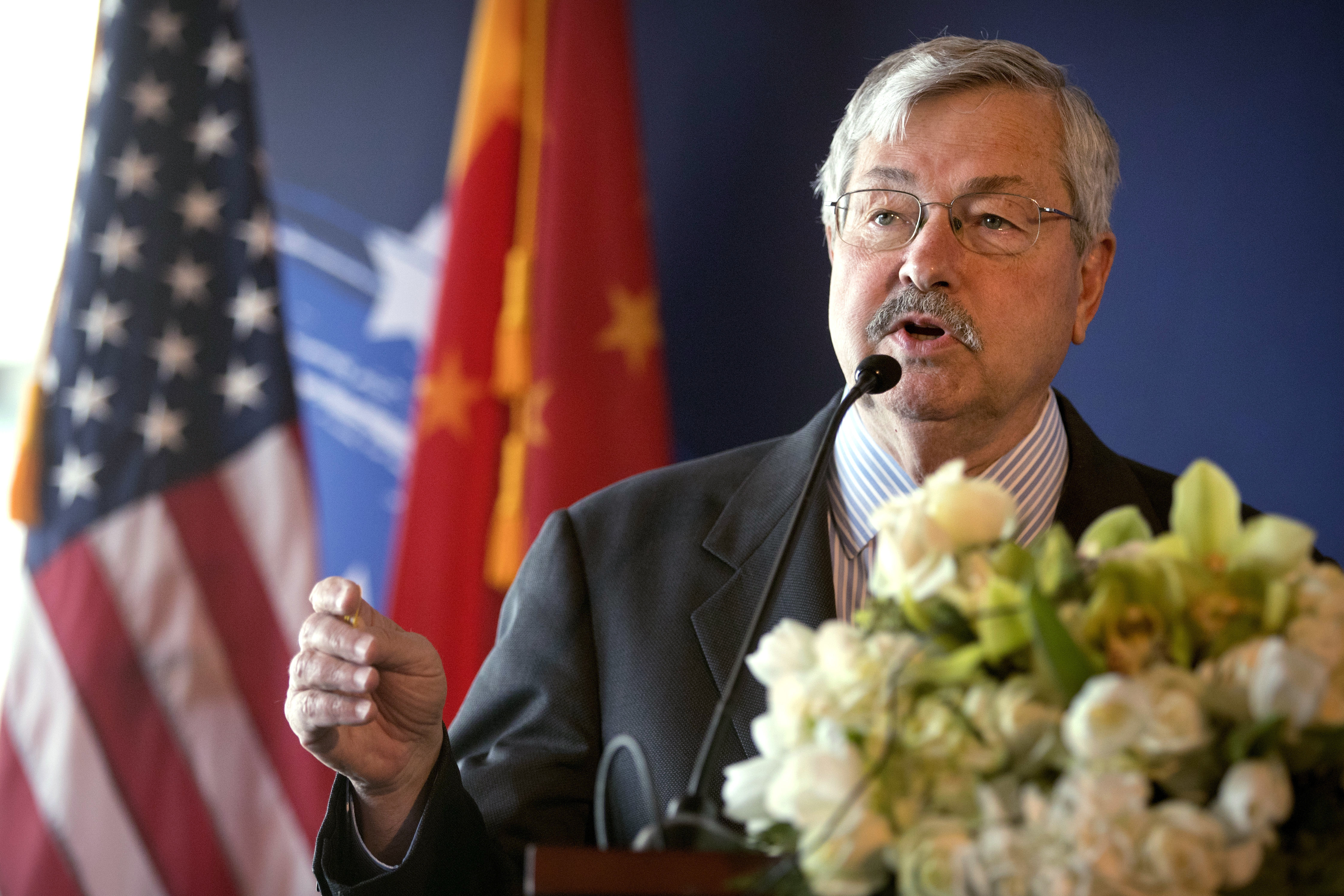American ambassador defends rules for Chinese diplomats