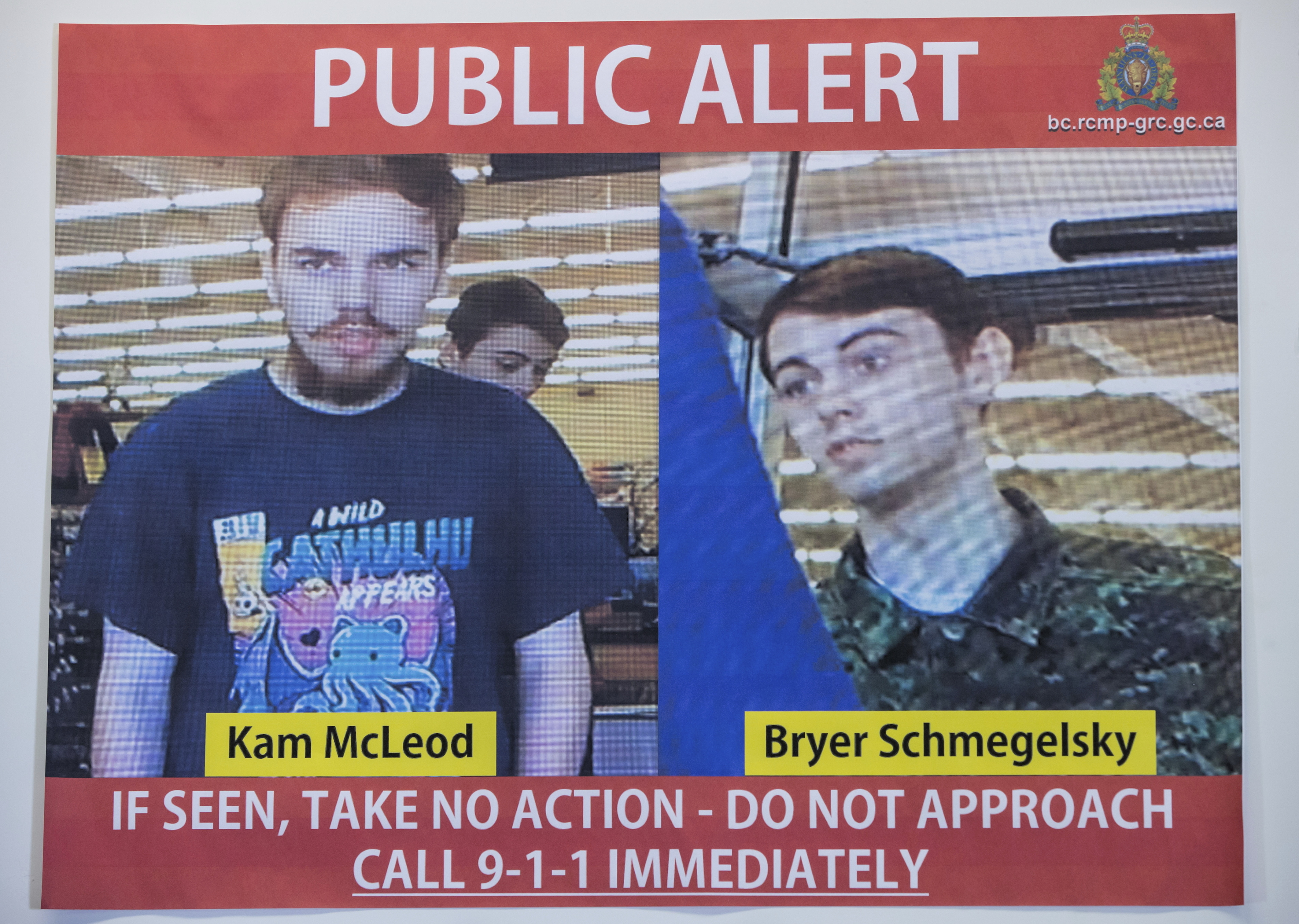 Canadian police: 2 fugitives died by suicide