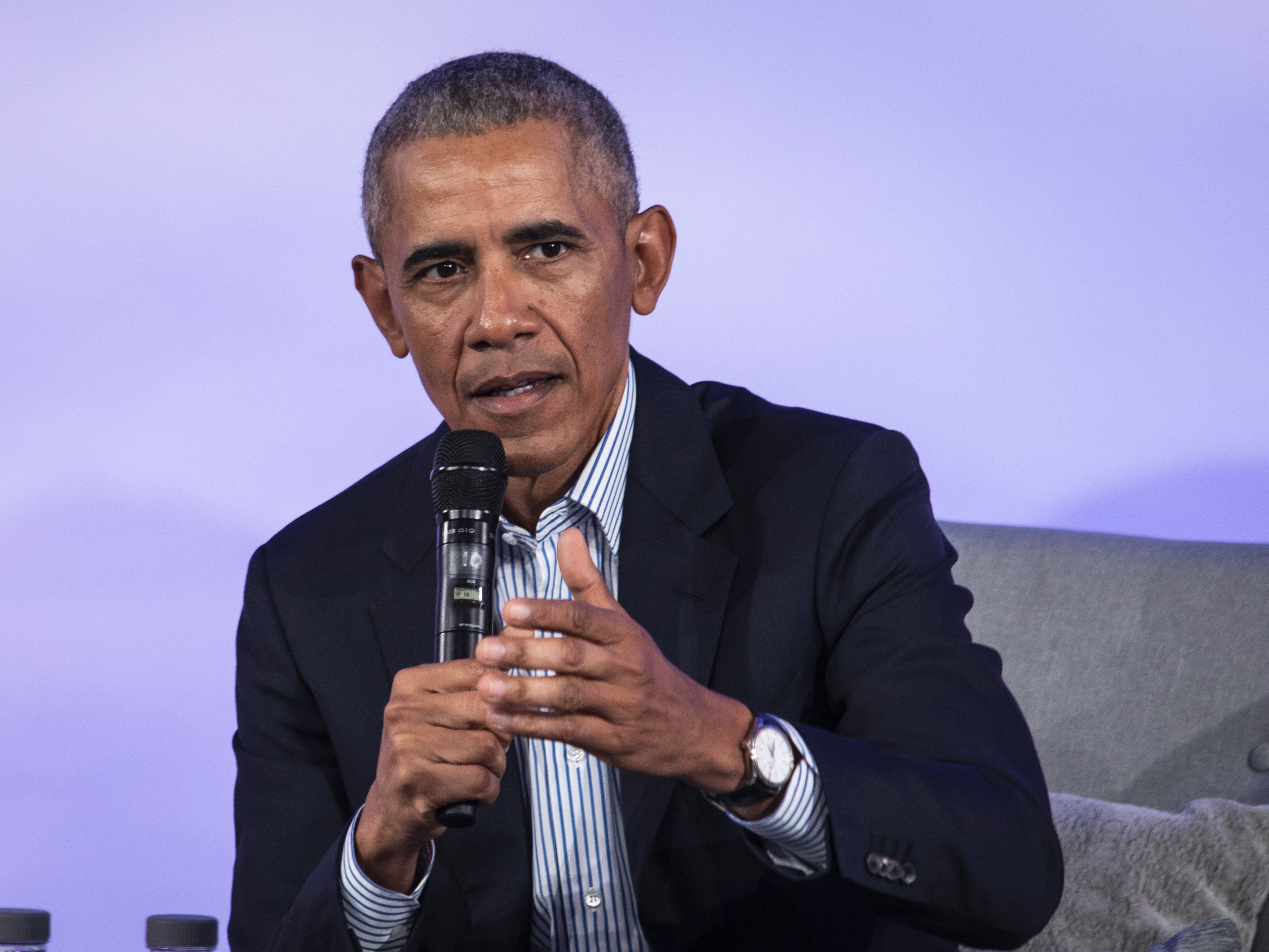 Obama talks climate change, inequality at green conference