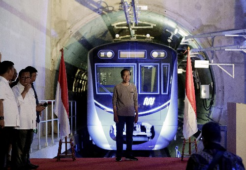 Indonesia's first subway opens in its gridlocked capital