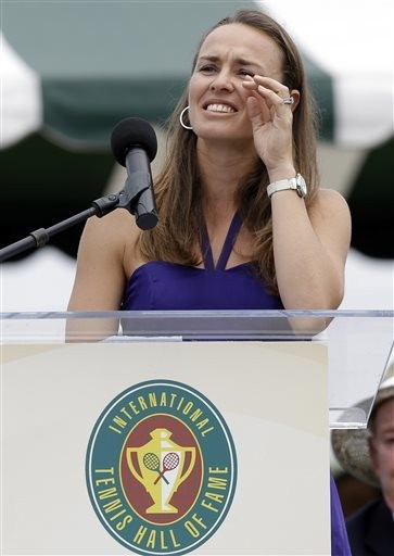 Finally, an Olympic medal for Martina Hingis