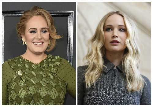 Adele and Jennifer Lawrence whoop it up at NYC gay bar