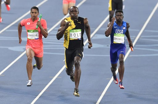 Jamaica wins gold in relay _ and a Jamaican-born sprinter helps Japan win silver