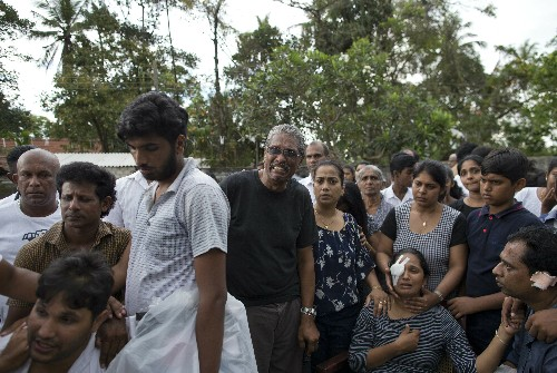 Seaside Sri Lanka town known for its churches is in mourning