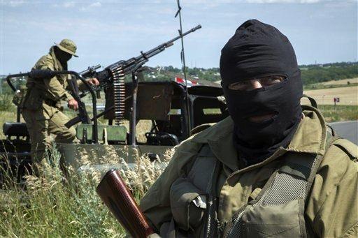 Ukrainian Conflict 2014 - Magazine cover