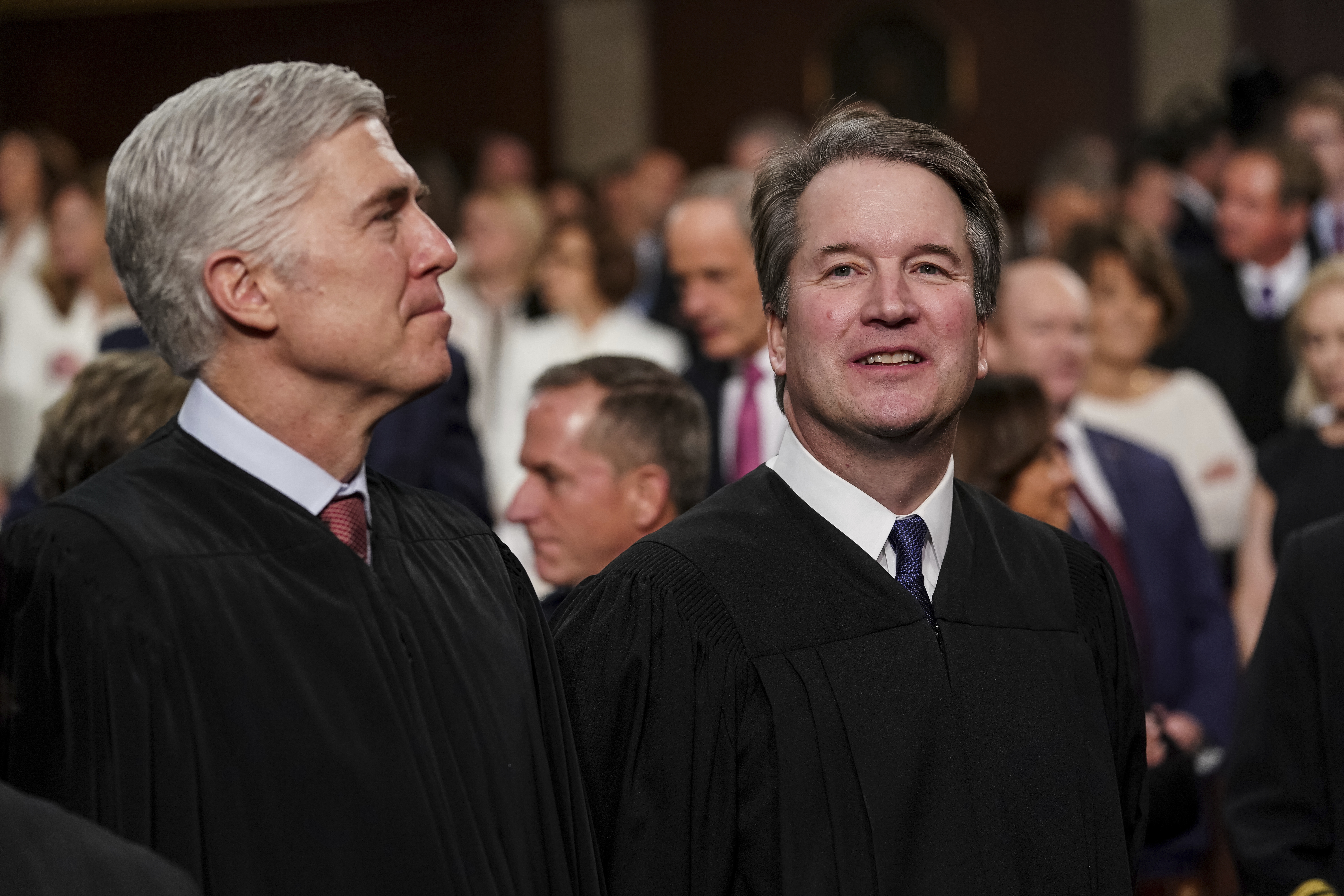 Trump's 2 Supreme Court picks on opposite sides in 2 cases