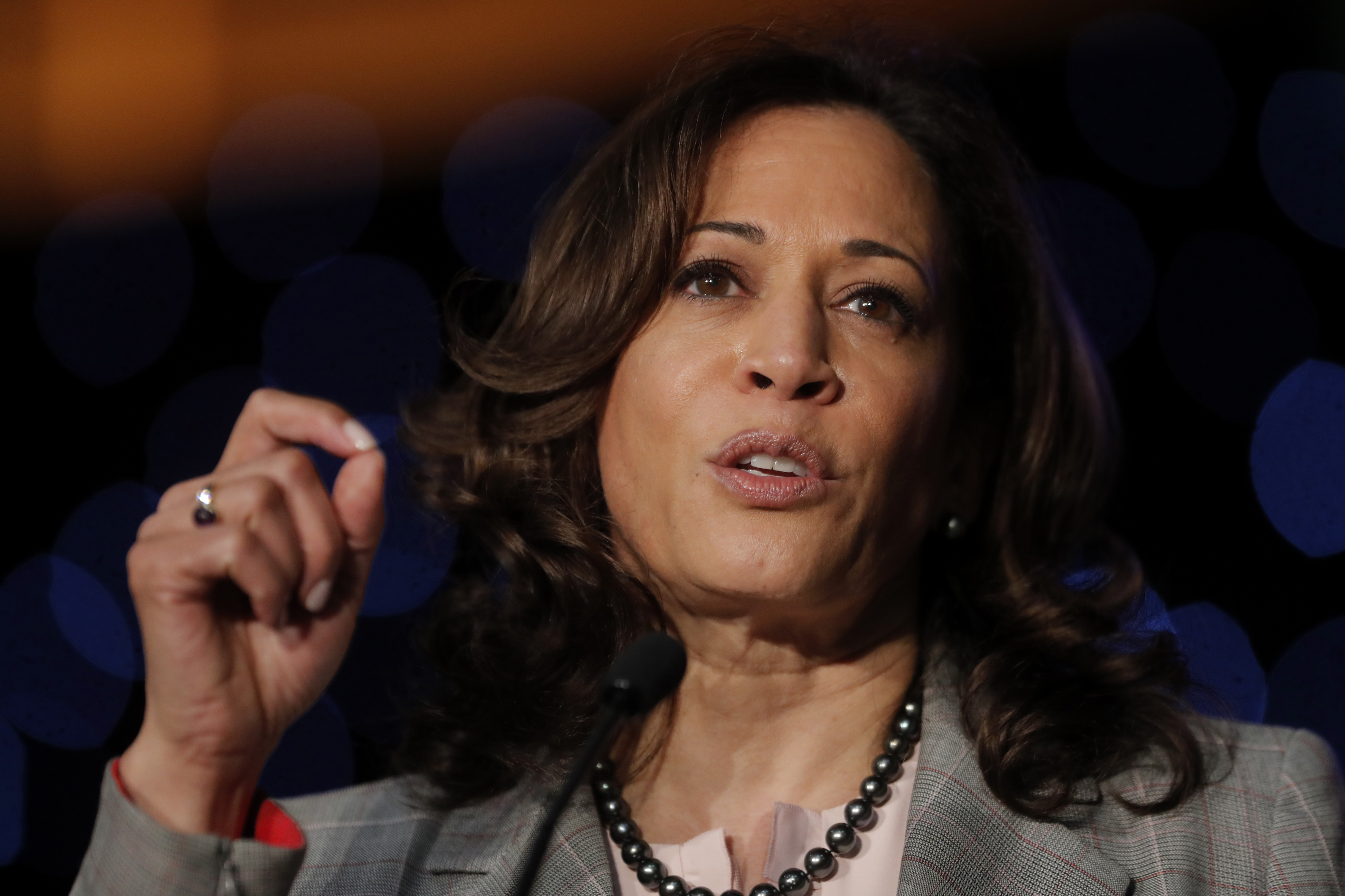 In NH, Democrats question whether Harris willing to woo them