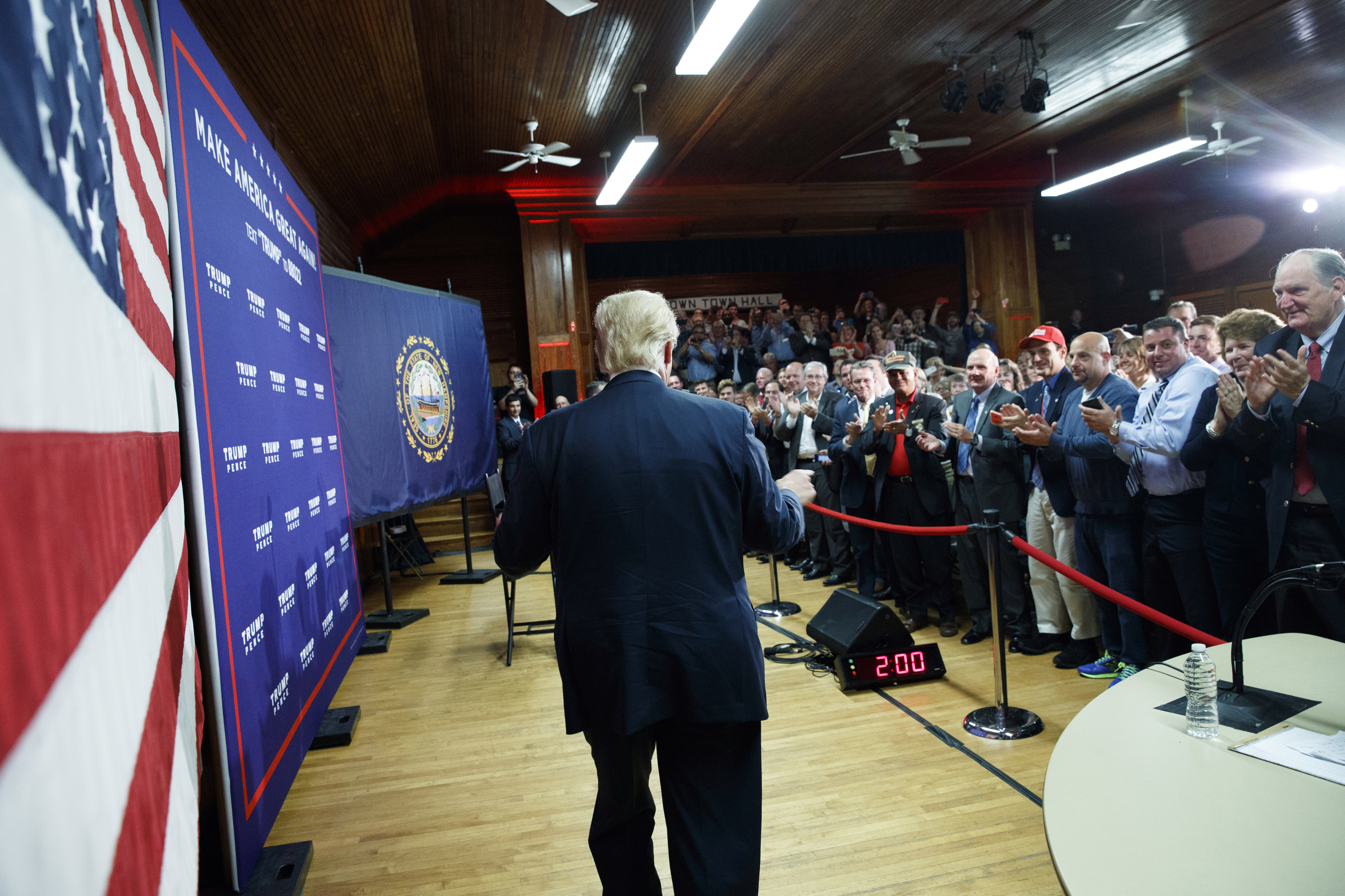 Effort to put New Hampshire GOP behind Trump faces pushback